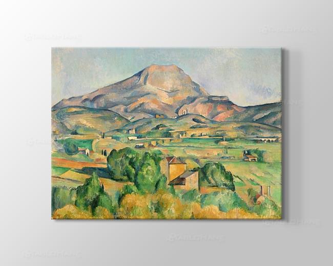 Cezanne Sainte - Victoire Dağı Tablosu
