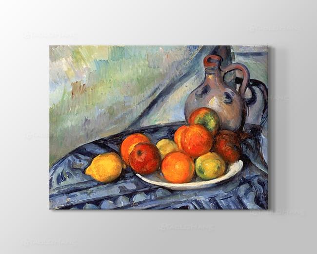 Cezanne Meyveler Tablosu