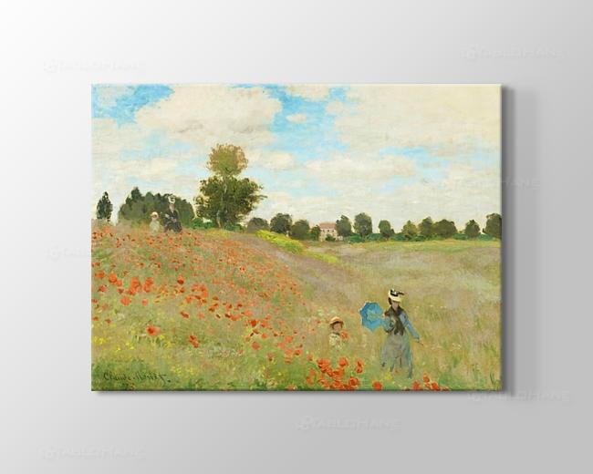 Claude Monet Gelincikler Tablosu
