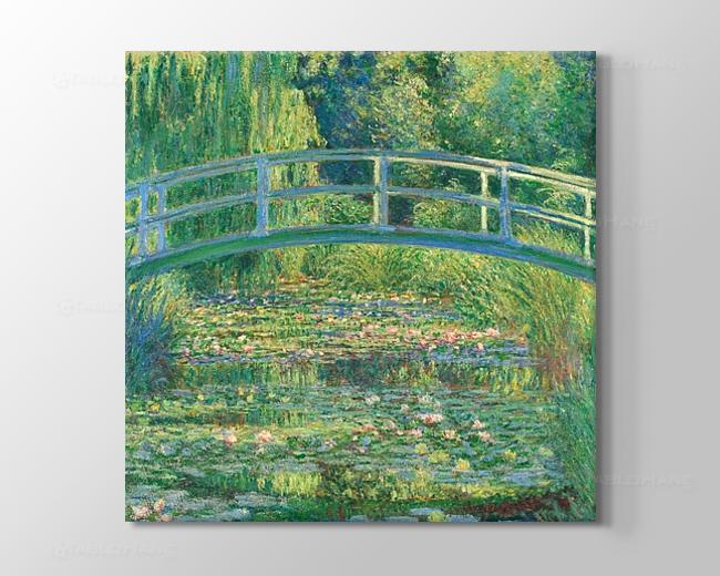 Claude Monet: Japon Köprüsü Tablosu