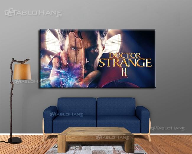 Doctor Strange 2 marvel yeni kanvas tabloları