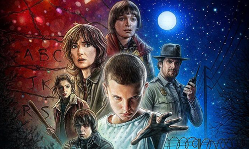 Stranger Things Kanvas Tablonu Tasarla!